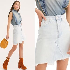 Free People | We The Free Going Rogue Denim Skirt